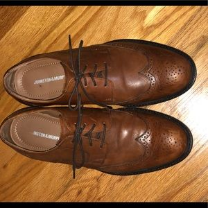 Johnston&Murphy brown dress shoes